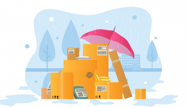 Bad weather and shipping delays